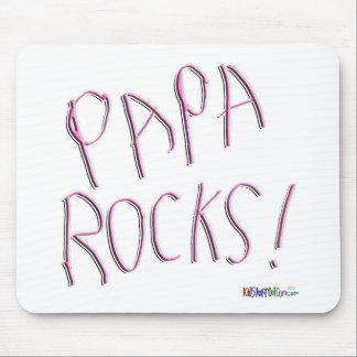 Papa Rocks! Mousepad