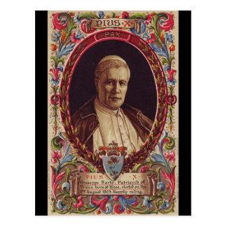 Papa Saint Pío X Postal