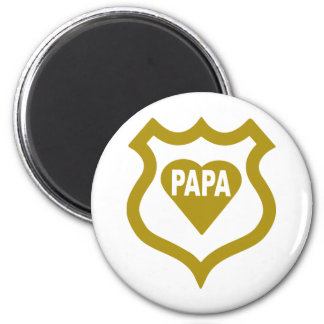 papa-shield.png 2 inch round magnet
