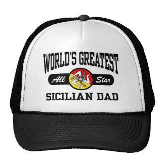 Papá siciliano gorros