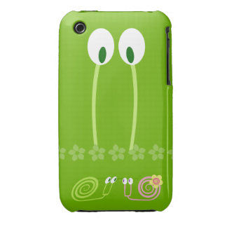 Papa snail and the first love of the son and its b iPhone 3 covers