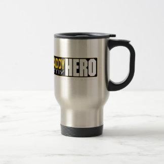 Papá sold.jpg del héroe del soldado taza de viaje de acero inoxidable