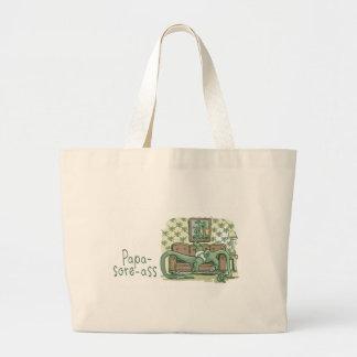 Papa-Sore-Ass Canvas Bag