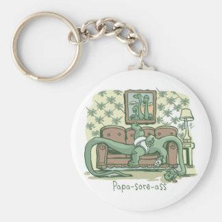 Papa-Sore-Ass Keychains