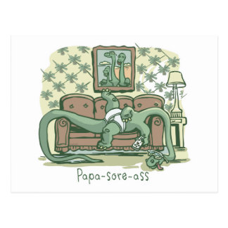 Papa-Sore-Ass Post Card