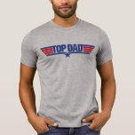 Papá superior camiseta