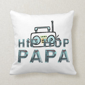 Papá SUPERIOR de Hip Hop Cojín