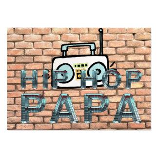 Papá SUPERIOR de Hip Hop Plantillas De Tarjetas Personales
