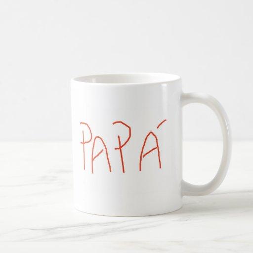 PAPA TAZA DE CAFÉ