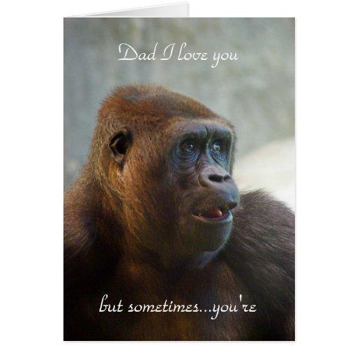 Papá te amo tarjeta de felicitación