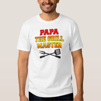 Papa The Grill Master T-Shirt