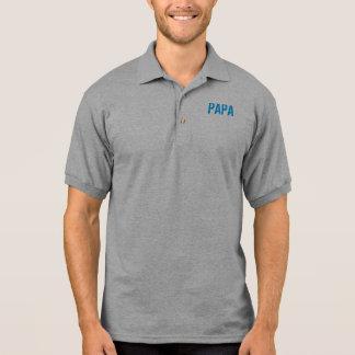 PAPA THE MAN THE MYTH THE LEGEND POLO SHIRT