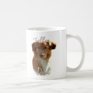 Papá tocante 2 del perro perdiguero del pato de Nu Tazas De Café