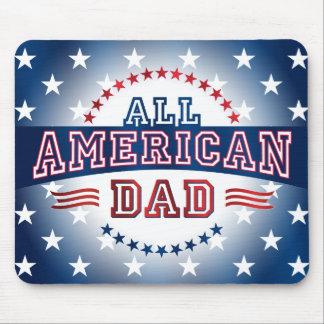 Papá Todo-Americano Mousepad