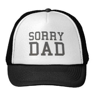 Papá triste gorra