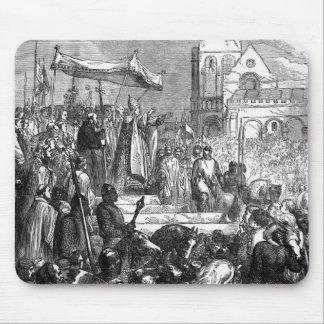 Papa Urbano II que predica la primera cruzada Mousepad