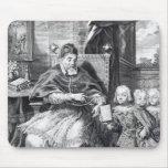 Papa Urbano VIII con sus sobrinos Mousepad