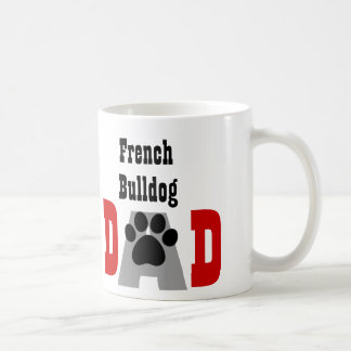 Papá V03 del dogo francés de la PLANTILLA Taza Clásica