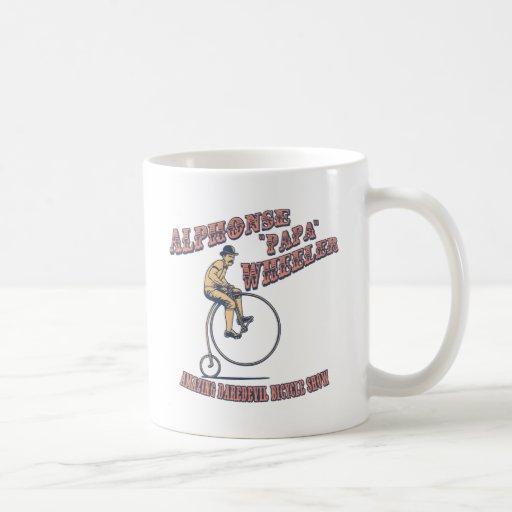 Papa Wheeler Classic White Coffee Mug