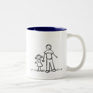 Papá y yo taza (dibujo sin título)