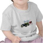 Papá y yo tractores camiseta