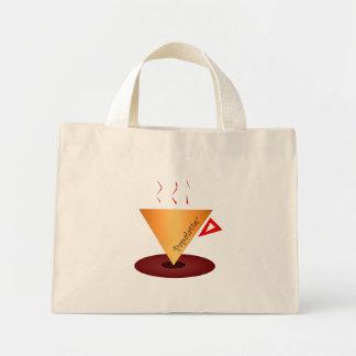 Papacup big mini tote bag