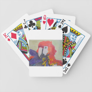 Papagei Bicycle Playing Cards