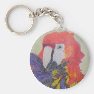 Papagei Keychain