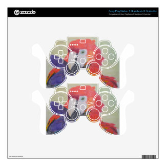 Papagei Skins For PS3 Controllers