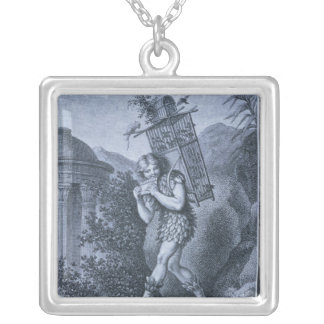 "Papageno: ""I am the birdcatcher Silver Plated Necklace"