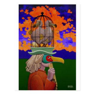 Papageno o el Birdcatcher Postales