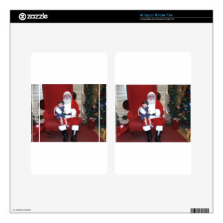 Papai_noel_-_santa_claus_ Kindle Fire Skin
