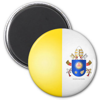 Papal Coat of Arms 2 Inch Round Magnet