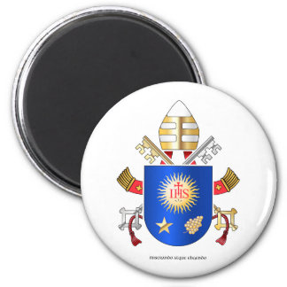 Papal Coat of Arms Fridge Magnets