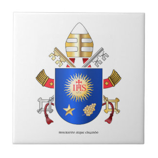 Papal Coat of Arms Tile
