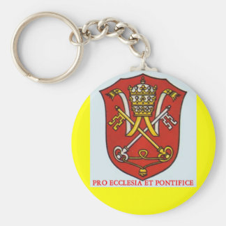PAPAL KEY CHAIN TRADITIONAL ROMAN CATHOLIC POPE