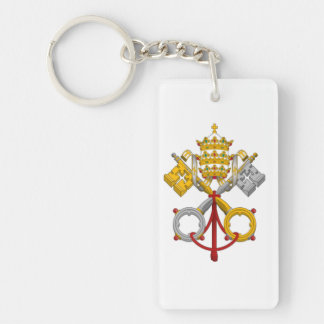 Papal Seal Keychain