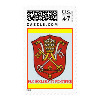 PAPAL VATICAN TRADITIONAL ROMAN CATHOLIC POSTAGE