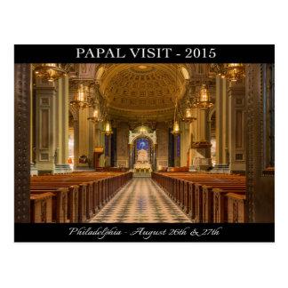 Papal Visit To Philadelphia Post Card