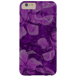 Papaloa Hibiscus Hawaiian Lava Rock Painting Barely There iPhone 6 Plus Case