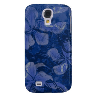 Papaloa Hibiscus Hawaiian Lava Rock Painting Galaxy S4 Case