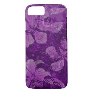 Papaloa Hibiscus Hawaiian Lava Rock Painting iPhone 8/7 Case