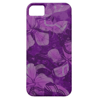 Papaloa Hibiscus Hawaiian Lava Rock Painting iPhone SE/5/5s Case