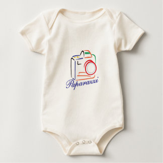 Paparazzi Camera Baby Bodysuit