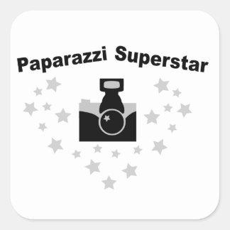 Paparazzi Camera Square Sticker