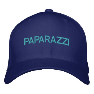 PAPARAZZI Customizable Cap by eZaZZleMan.com Embroidered Hats