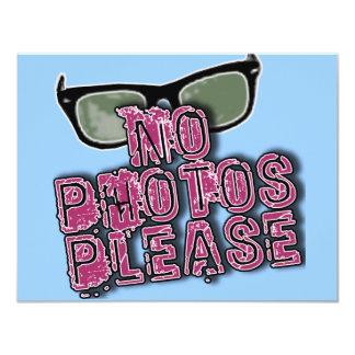 Paparazzi No Photos Please Tshirts & Gifts Card