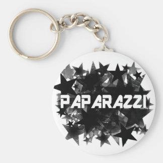 Paparazzi Star Basic Round Button Keychain