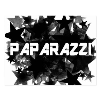 Paparazzi Star Postcard