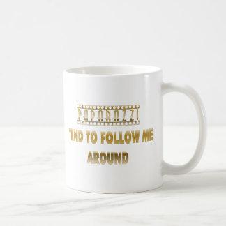Paparazzi Tend to Follow Me Around Coffee Mug